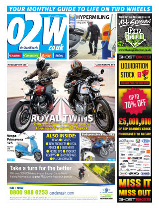 On Two Wheels February 2019