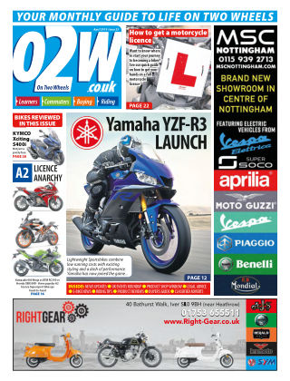 On Two Wheels January
