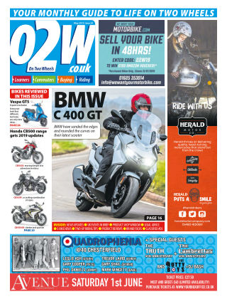 On Two Wheels May_2019
