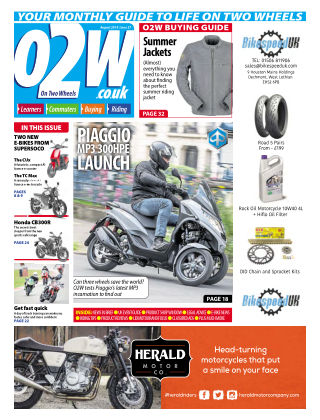 On Two Wheels August 2019