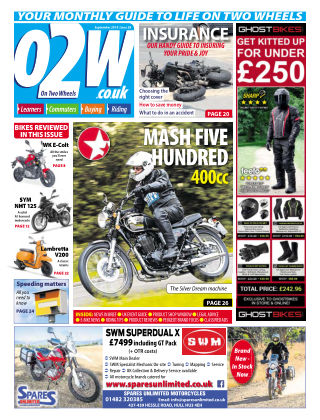 On Two Wheels September 2019