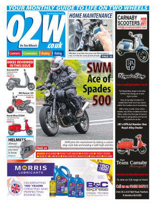 On Two Wheels November_2019