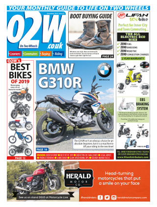 On Two Wheels December 2019
