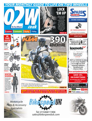 On Two Wheels January_2019