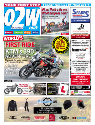 On Two Wheels April 2020