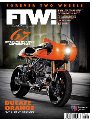 FTW! Forever Two Wheels Issue 1