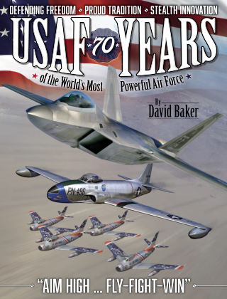 USAF - 70 Years of the World's Most Powerful Air Force Issue 01