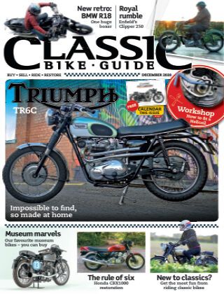 Classic Bike Guide December 2020