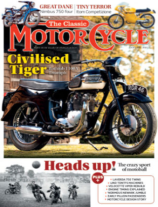 The Classic MotorCycle January 2021