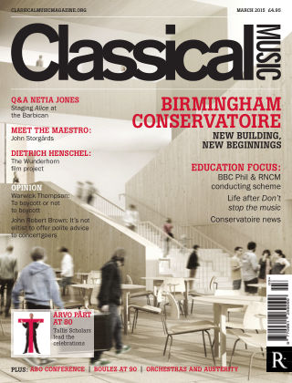 Classical Music March 2015