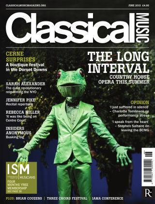 Classical Music June 2015