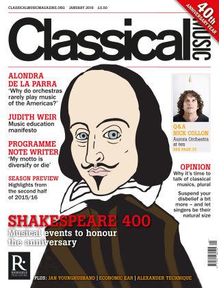 Classical Music Jan 2016