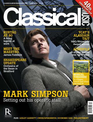 Classical Music April 2016