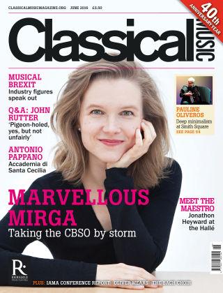 Classical Music June 2016