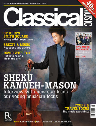 Classical Music August 2016