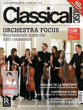 Classical Music Nov 2016