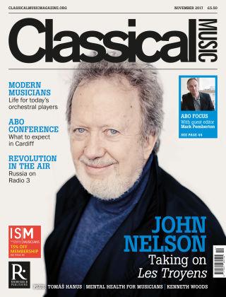 Classical Music November 2017
