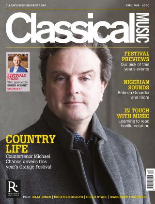 Classical Music April 2018