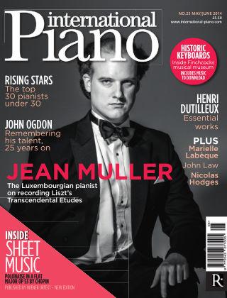 International Piano Issue 25