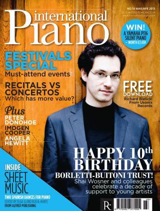 International Piano Issue 18