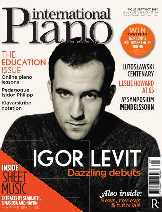 International Piano Issue 21