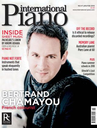 International Piano January 2018