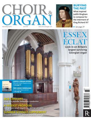 Choir & Organ March - Aprl 2015