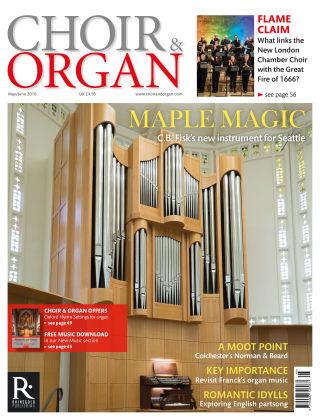 Choir & Organ May - July 2016