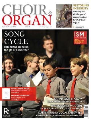Choir & Organ Sept - Oct 2016