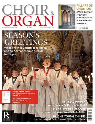 Choir & Organ Nov - Dec 2016