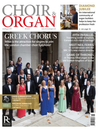 Choir & Organ July-Aug 2017