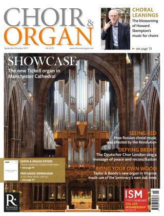 Choir & Organ Sept - Oct 2017