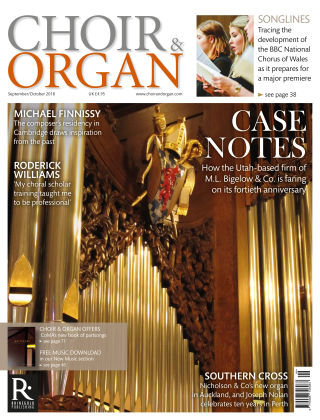 Choir & Organ Sept Oct 2018