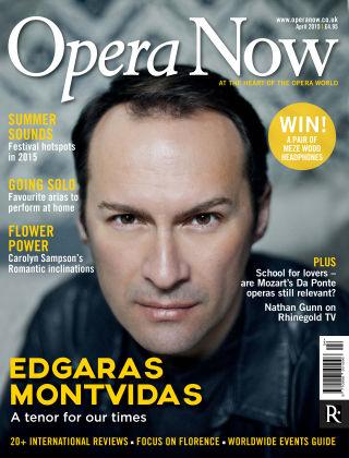 Opera Now April 2015