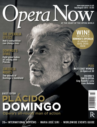 Opera Now July - Aug 2015