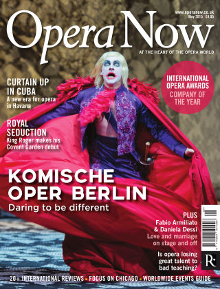 Opera Now May 2015