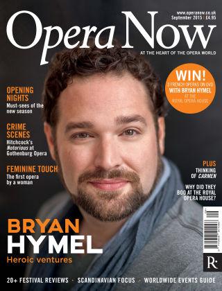 Opera Now Sept 2015