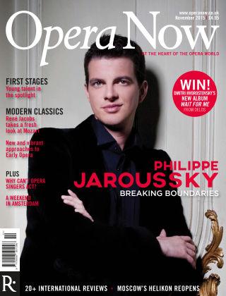 Opera Now Nov 2015