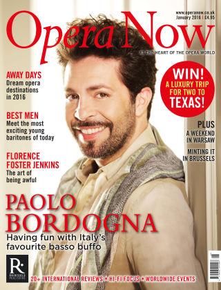 Opera Now Jan 2016