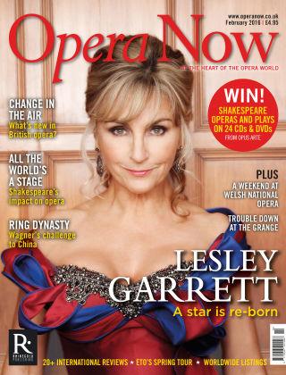 Opera Now Feb 2016
