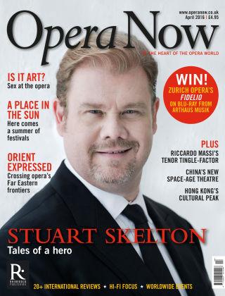 Opera Now April 2016
