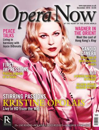 Opera Now Dec 2016