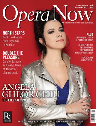 Opera Now November 2017