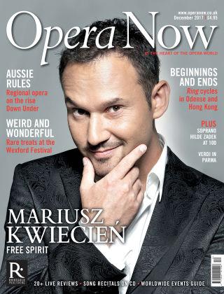 Opera Now December 2017