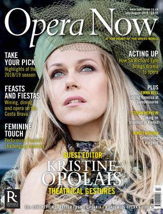 Opera Now JulyAug2018