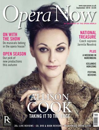Opera Now September 2018