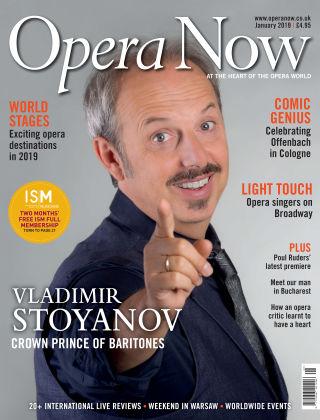 Opera Now January 2019