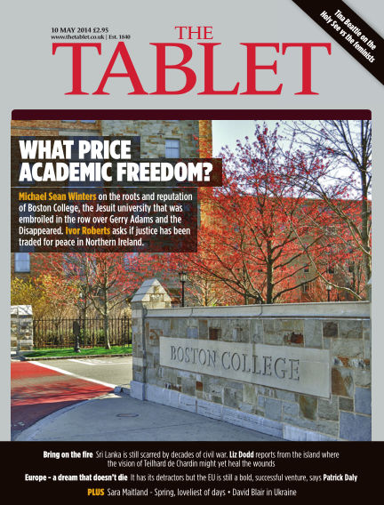 The Tablet Magazine May 10, 2014 00:00