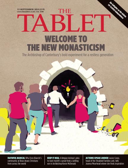The Tablet Magazine September 13, 2014 00:00