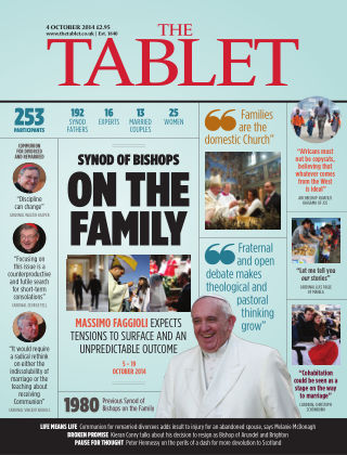 The Tablet Magazine 4th October 2014